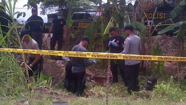 Polisi Gambar Sketsa Pelaku Bom Kerbau Di Bantul