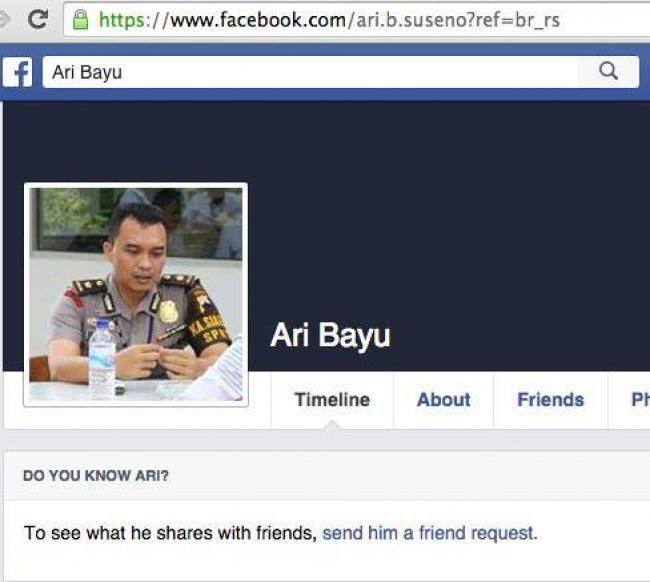 Maraknya Penipuan Menggunakan Akun Fb Dengan Foto Polisi