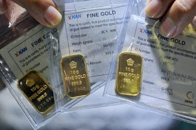 Daftar Harga Emas Batangan Milik Antam Hari Ini