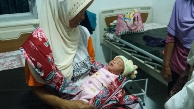 Polisi Sebut B K Pihak Yang Ingin Adopsi Bayi Lucu Yang Dibuang Di Grobogan