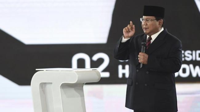 Lucu Saat Prabowo Ditertawakan Penonton Gara Gara Tak Tahu Tentang RI