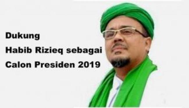 Habib Rizieq Syihab Jadi Capres 2019, PKS : Akan Ajukan ...