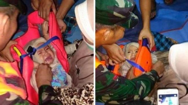 Image result for bayi selamat pesawat lion air gt 610 hoaks