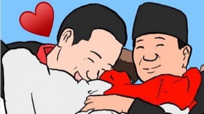 Pelukan Jokowi Prabowo Benar Benar Menginspirasi Ridwan Kamil Pun